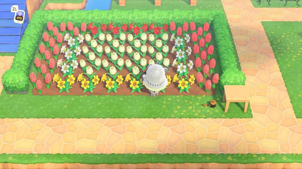 柵 花壇 あつ 森